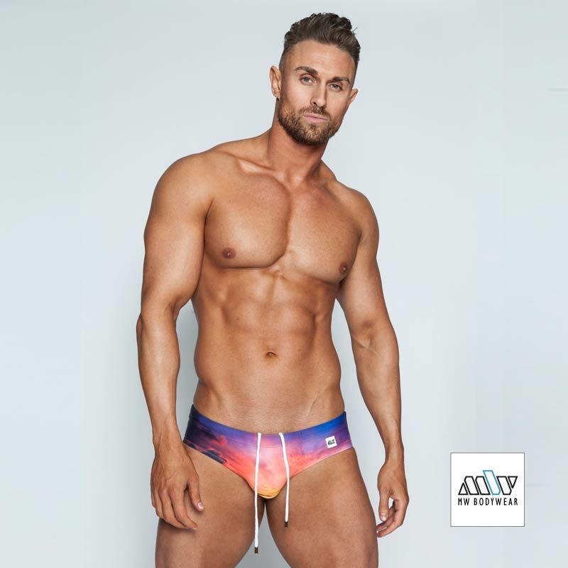 men's designer swimwear