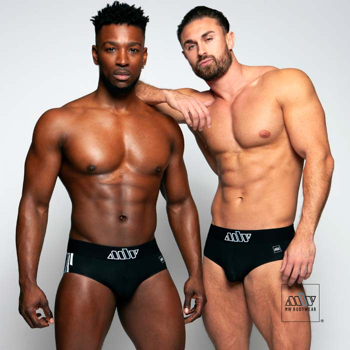black briefs underwear for men