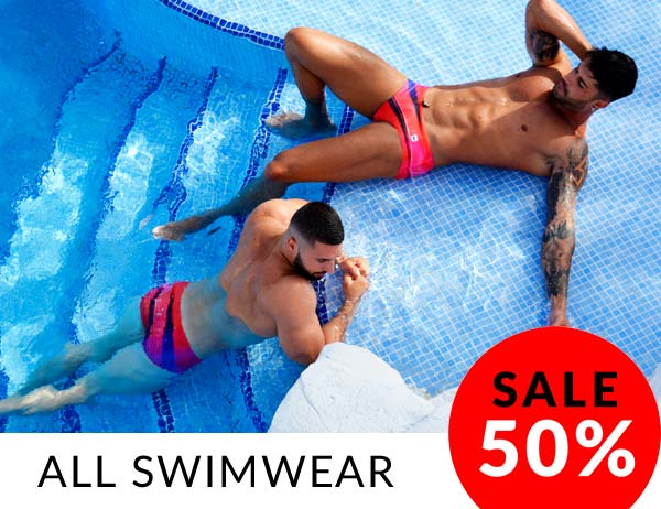 mens designer swimwear
